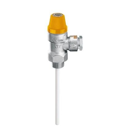 Valvola di sicurezza combinata temperatura e pressione caleffi 309