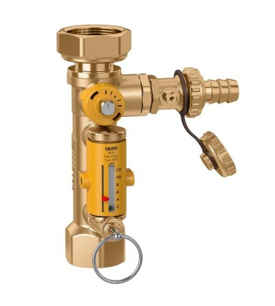 Replacement for balancing valve with flow meter caleffi 258