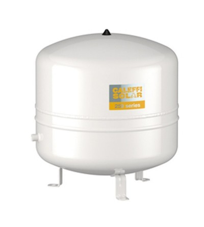 Welded expansion vessel only for primary circuit of solar thermal systems caleffi 259