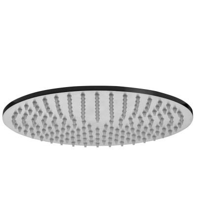 Soffione per doccia in acciaio inox Paffoni Steel ZSOF113