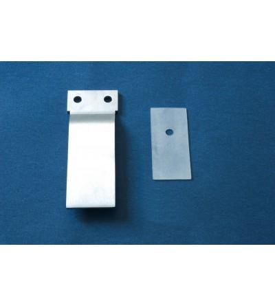 replacement plate for sliding doors shower samo acrux RIC1137