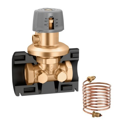 Differential pressure regulating valve caleffi 140