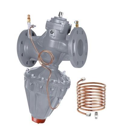Differential pressure regulating valve caleffi 140