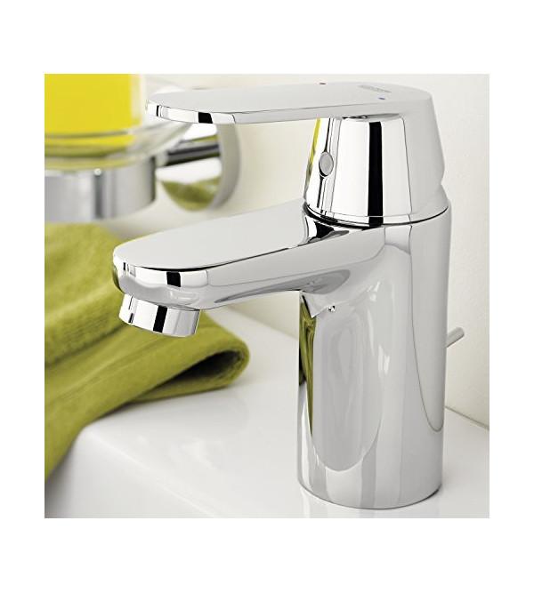 miscelatore per lavabo eurosmart cosmopolitan grohe 32825000 rubinetteria shop. Black Bedroom Furniture Sets. Home Design Ideas