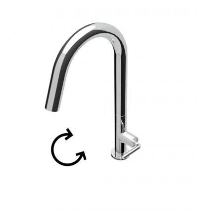 SINK MIXER Ø30mm - Chrome - Teorema art 98527
