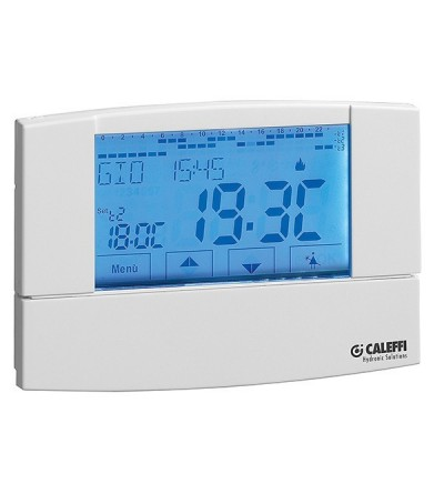 Digital chrono-thermostat caleffi 738307