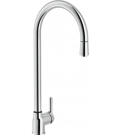 Single lever kitchen sink nobili nuvola nu12400cr