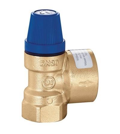 Valvola di sicurezza per impianti idrosanitari caleffi 531410