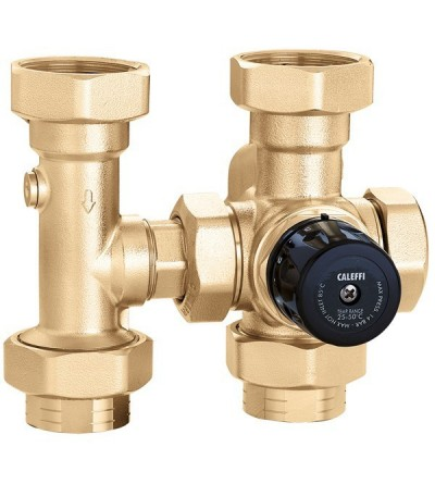 Valve thermostatique de mélange caleffi 163