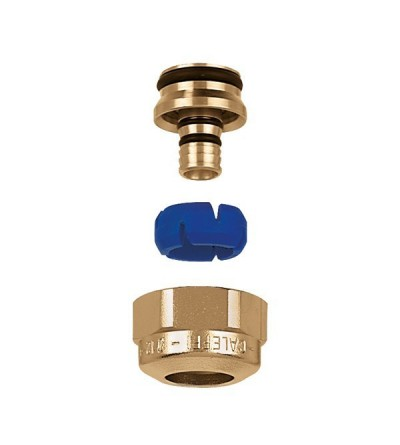 DARCAL - Self-adjustable diameter fitting for single and multilayer plastic pipes. 23 p.1,5  caleffi 680