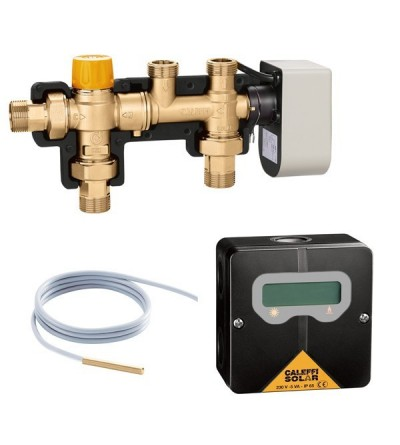 SOLARINCAL - Solar storage-to-boiler connection kit caleffi 265352