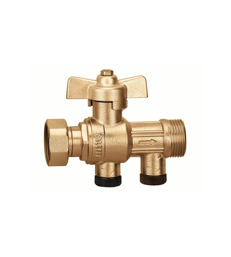 Ball valve with built-in...