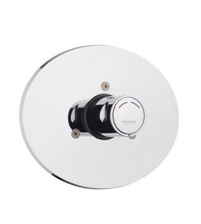 Miscelatore per doccia ad incasso con comando a pulsante Temporizzato Idral 08142