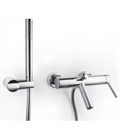 SINGLE LEVER BATH MIXER WITH SHOWER KIT PORTA&BINI 23100
