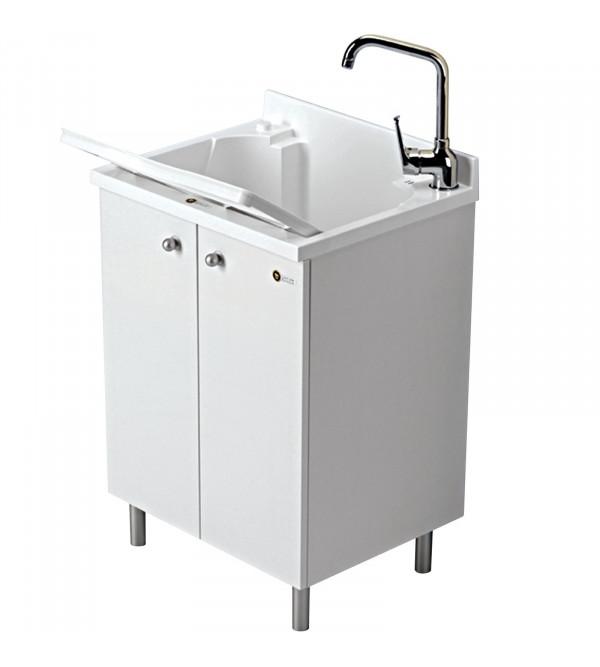 lavatoio 50 x 60 cm bianco montegrappa look one