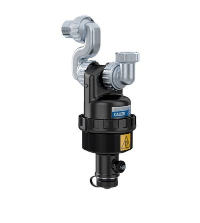 DIRTMAGSLIM® - Defangatore con magnete per installazione sottocaldaia. CALEFFI 545205
