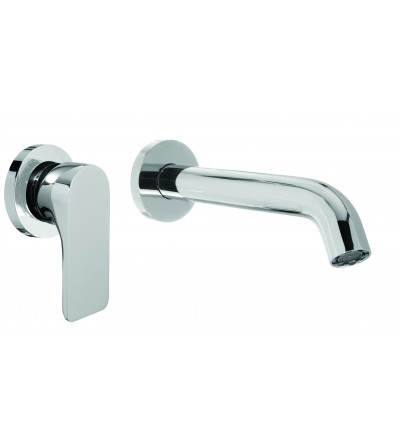 RAF Rubinetterie - Fizzy FZ20 Wall mounted mixer without drain with 21 cm spout