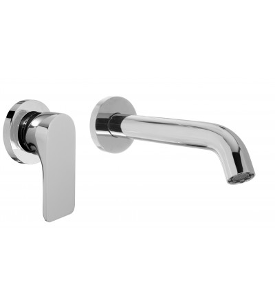 RAF Rubinetteria - T2 T2-20 Wall mounted mixer without drain with 21 cm spout