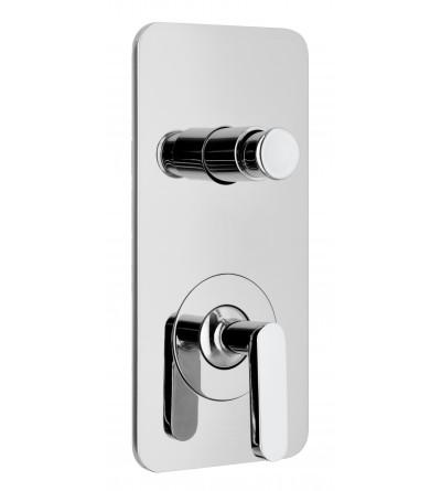 shower flush fit single control WEBERT LIVING LV860101