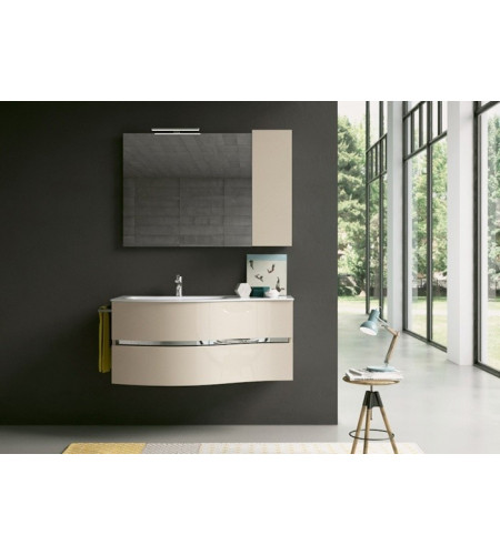 Furniture for bathroom bmt moon 02 - Rubinetteria Shop
