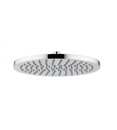 Tête de douche en ABS chromé Ø 300x16 mm - Pollini Acqua Design Delfino 30T