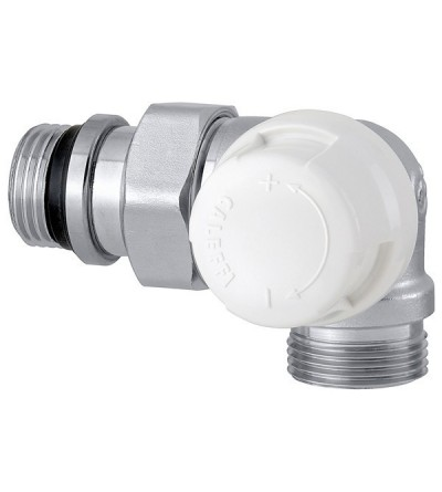 Double angled thermostatic radiator valve fitted for thermostatic control caleffi 226
