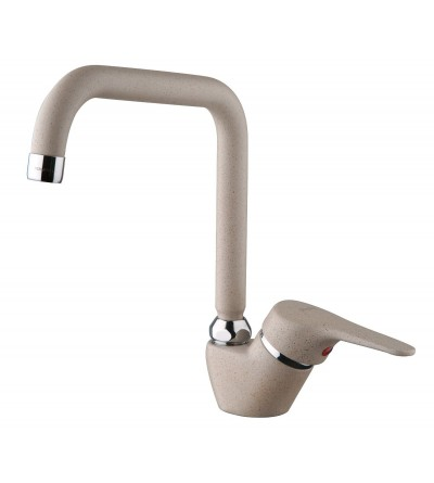 Kitchen mixer swivel spout 90°PIRALLA NUVOLA 0NU..107A16