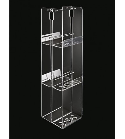 Porta oggetti tre piani tlbath for.box 2103