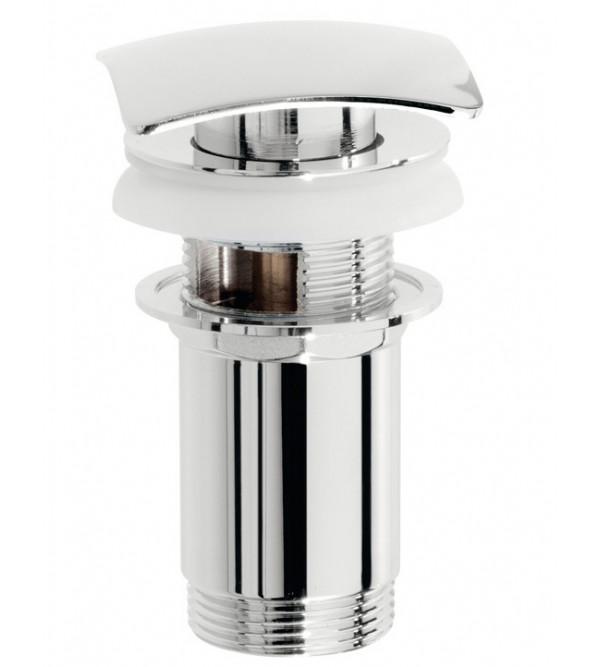 Piletta click clack tappo quadrato in ottone pollini acqua design t16004cr rubinetteria shop - Porta acqua termosifoni ...