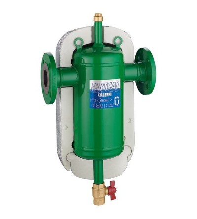DIRTCAL® - Dirt separator. Flanged connections. With insulation CALEFFI 5465