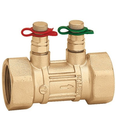 Flow metering device. Female threaded connections caleffi 683