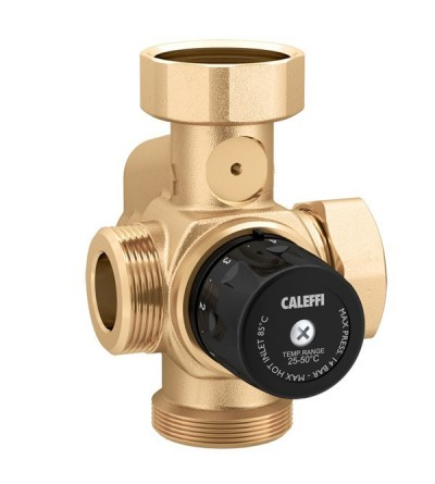 Thermostatic mixing valve caleffi 166