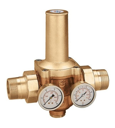 Pressure reducing valve with replaceable cartridge CALEFFI 5365