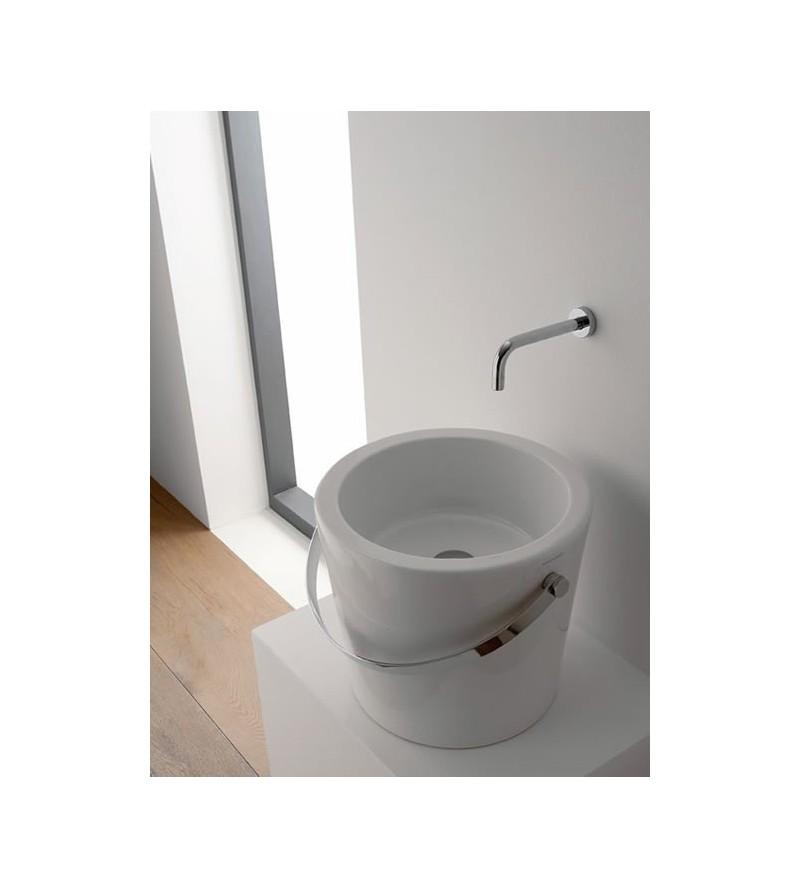 Lavabo da appoggio scarabeo bucket 40 8803