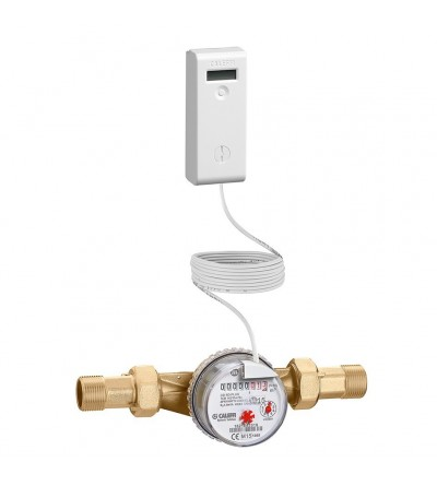 Acquisitore consumi sanitari con lettura wireless AQUA-PULSE CALEFFI 7200
