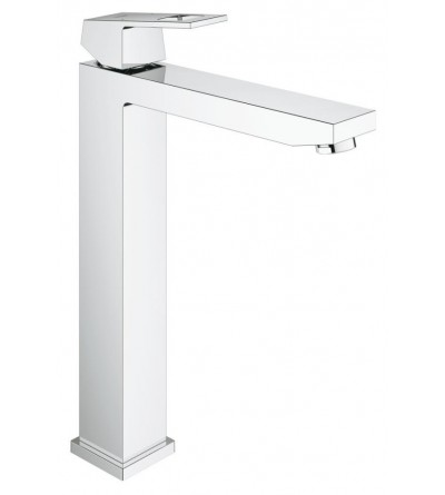 Grohe Eurocube single lever basin mixer, for free-standing wash bowls 23406000