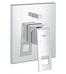Built-in mixer with 2 outlets diverter Grohe Eurocube - 19896000