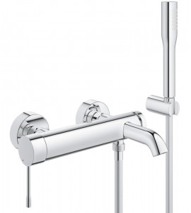 Exposed bath mixer with shower set Grohe Essence New con set doccia - 33628001