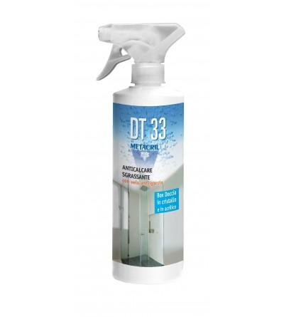 DT 33 - detergente antigoccia protettivo con azione anticalcare 500ml Metacril 07000501