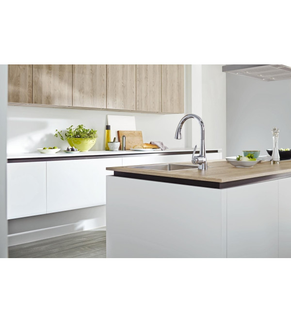 Miscelatore cucina estraibile grohe zedra 32294001 rubinetteria shop - Grohe miscelatore cucina ...