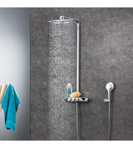 Grohe Rainshower System SmartControl 360 DUO shower system thermostatic mixer 26250000