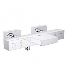 "Grohe Grohtherm Cube Mitigeur thermostatique 2 sorties 1/2"" 34497000"