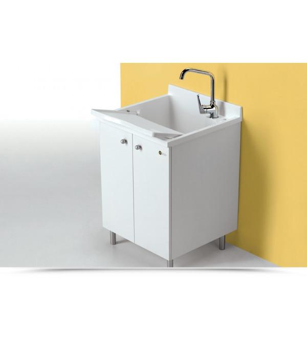 Lavatoio montegrappa look one 60 x 60 bianco - Montegrappa mobili bagno ...