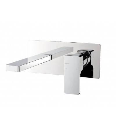 built-in single lever basin mixer tap Ritmonio Glitter PR32Al
