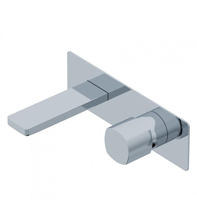Miscelatore lavabo ad incasso parete Ritmonio Haptic PR43AY101 ...