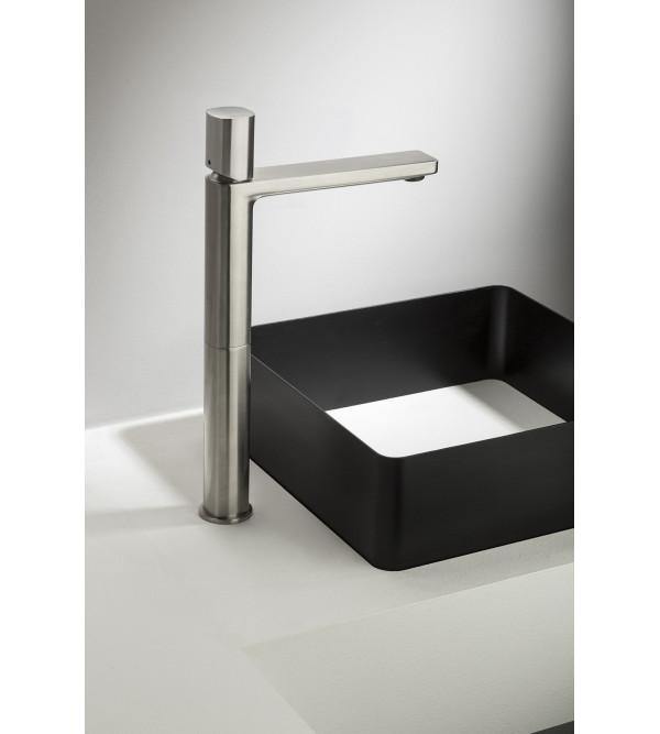 Rubinetto miscelatore lavabo alto ritmonio haptic pr43av201 rubinetteria shop - Rubinetto bagno alto ...
