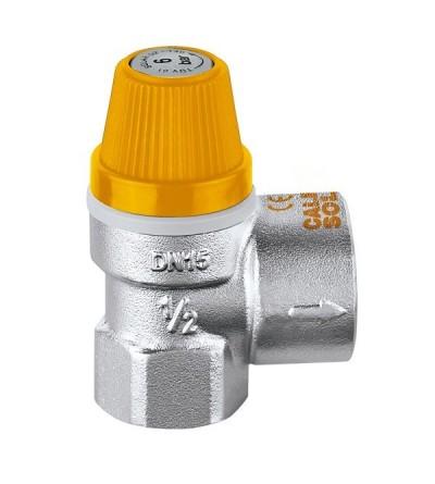 Válvula de seguridad para instalaciones solares CALEFFI 253