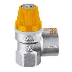 Safety valve for solar...