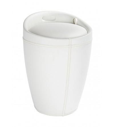 Eco-leather laundry basket Capannoli Egg EG190