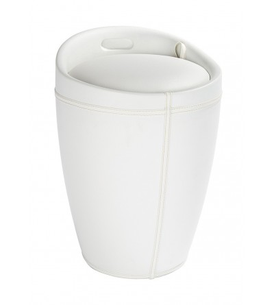 Laundry basket in eco-leather Capannoli Egg 190